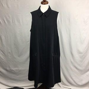 Alfani Women Button Up Vest Dress
